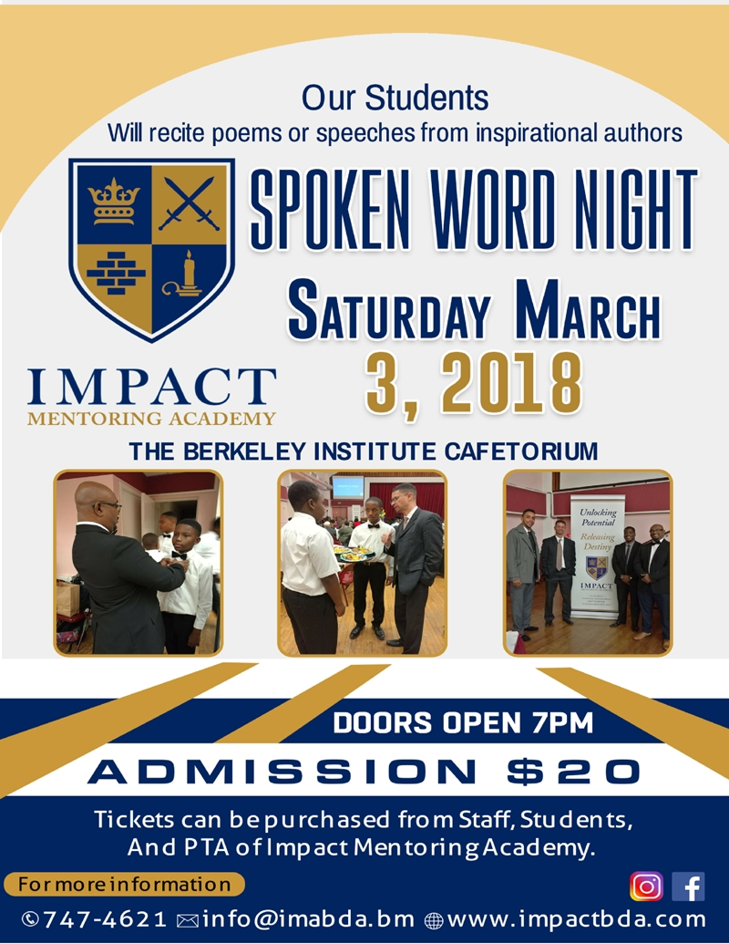 Spoken Word NIght 2018