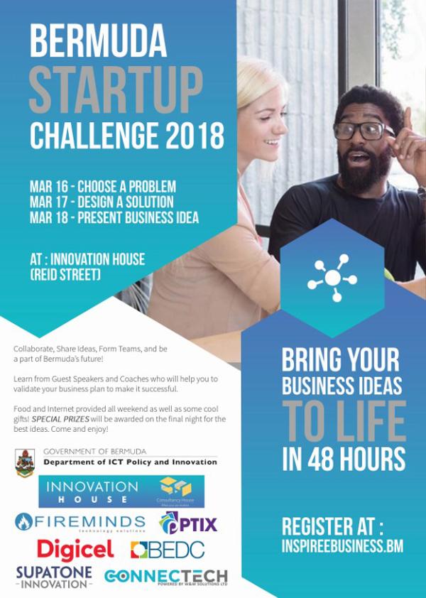 Startup Challenge Bermuda Feb 2018