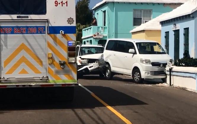 Collision Bermuda March 22 2018