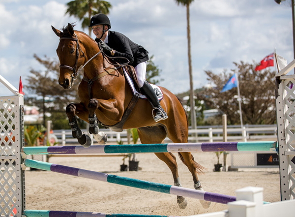 FEI World Jumping Bermuda March 12 2018 Casey