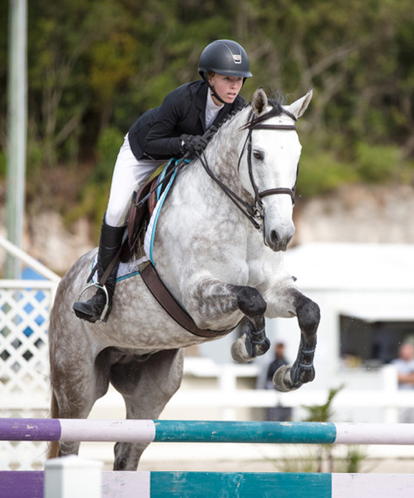 FEI World Jumping Bermuda March 12 2018 Courtney