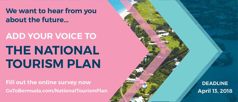 National Tourism Plan Bermuda March 28 2018