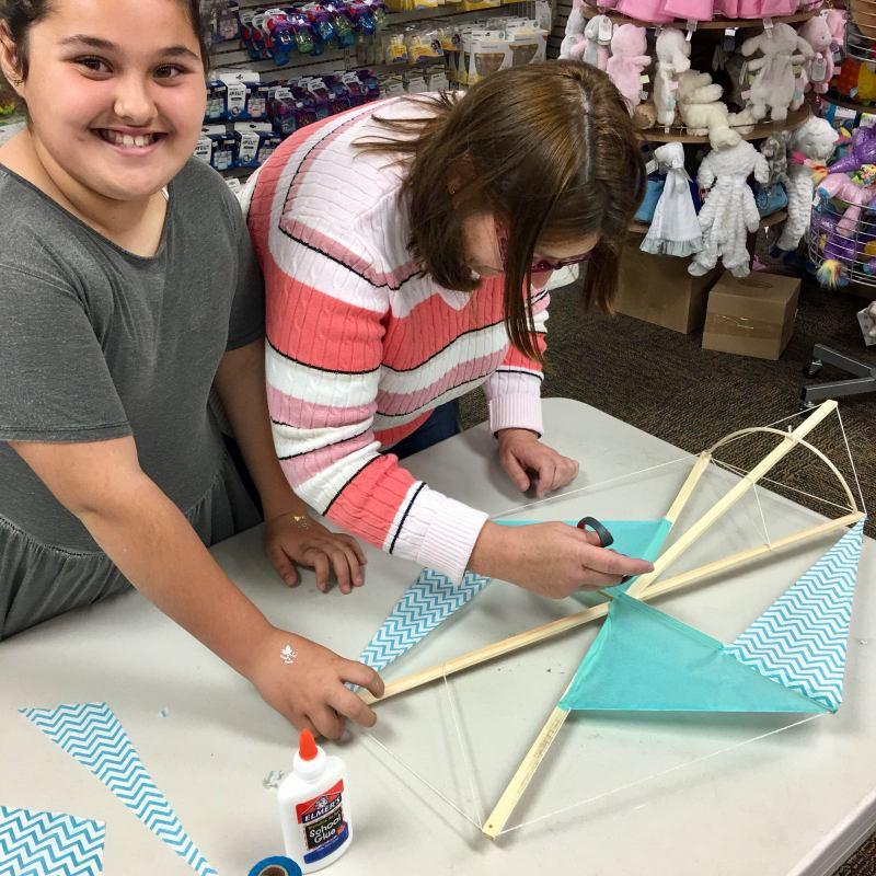 Phoenix Stores Kite Making Workshops Bermuda, March 2018 (3)