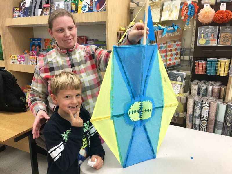 Phoenix Stores Kite Making Workshops Bermuda, March 25 2018 (1)