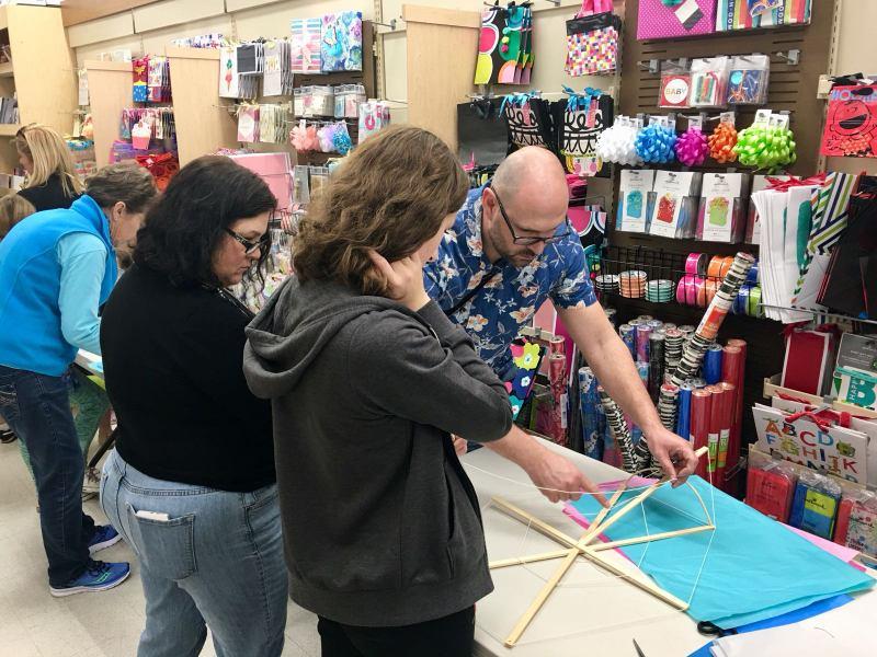 Phoenix Stores Kite Making Workshops Bermuda, March 25 2018 (12)