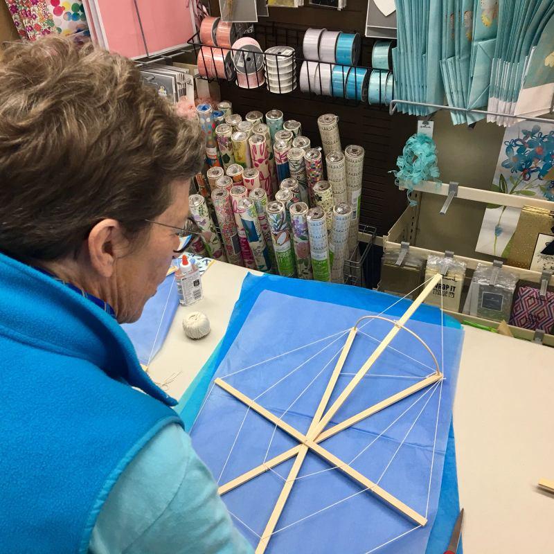 Phoenix Stores Kite Making Workshops Bermuda, March 25 2018 (14)