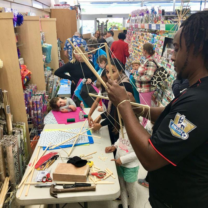 Phoenix Stores Kite Making Workshops Bermuda, March 25 2018 (15)