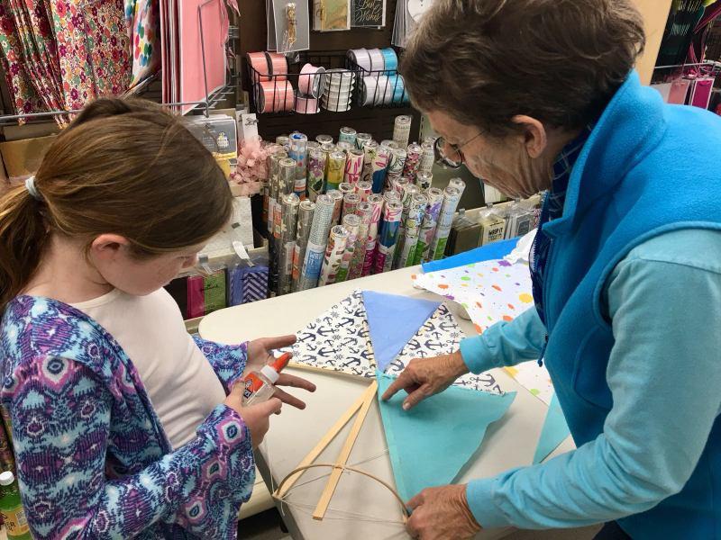 Phoenix Stores Kite Making Workshops Bermuda, March 25 2018 (6)