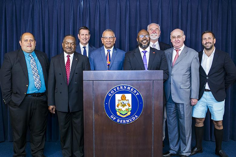 Public Works Press Conference Bermuda March 28 2018