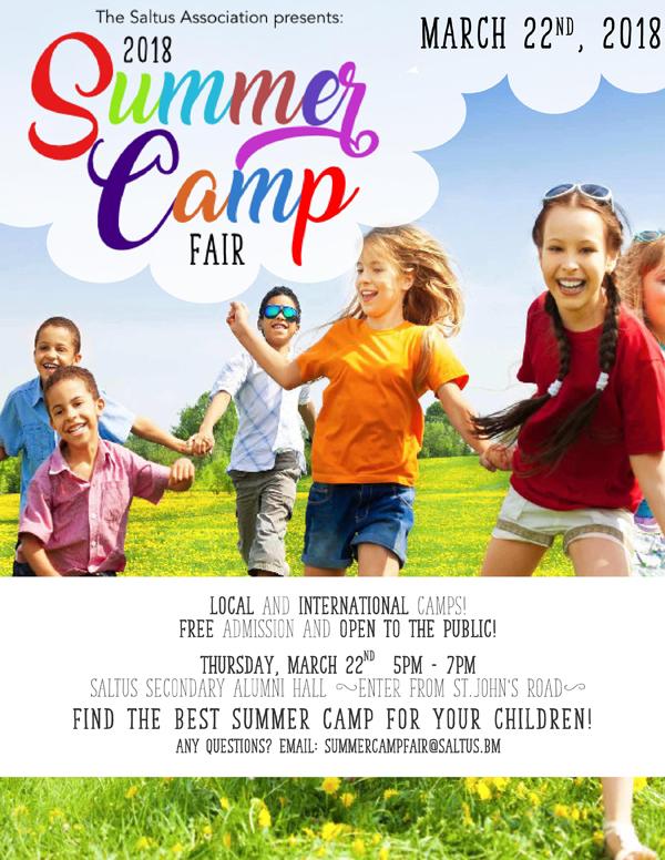 Saltus Summer Camp Fair Bermuda March 2018