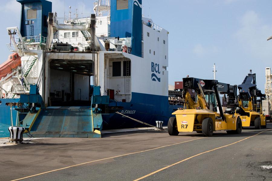 Ship unloaded in Dockyard March 2018 (1)