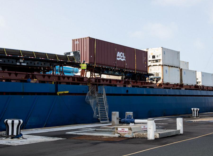 Ship unloaded in Dockyard March 2018 (2)