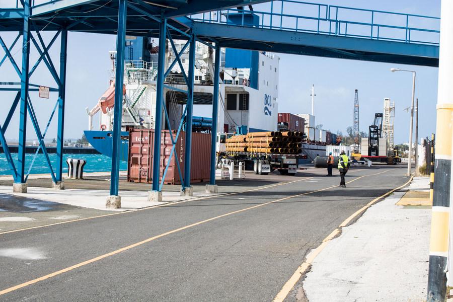 Ship unloaded in Dockyard March 2018 (3)