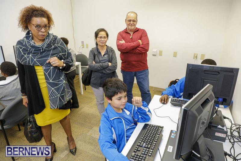 Students Receive Coding Certificates Bermuda, March 26 2018-6765
