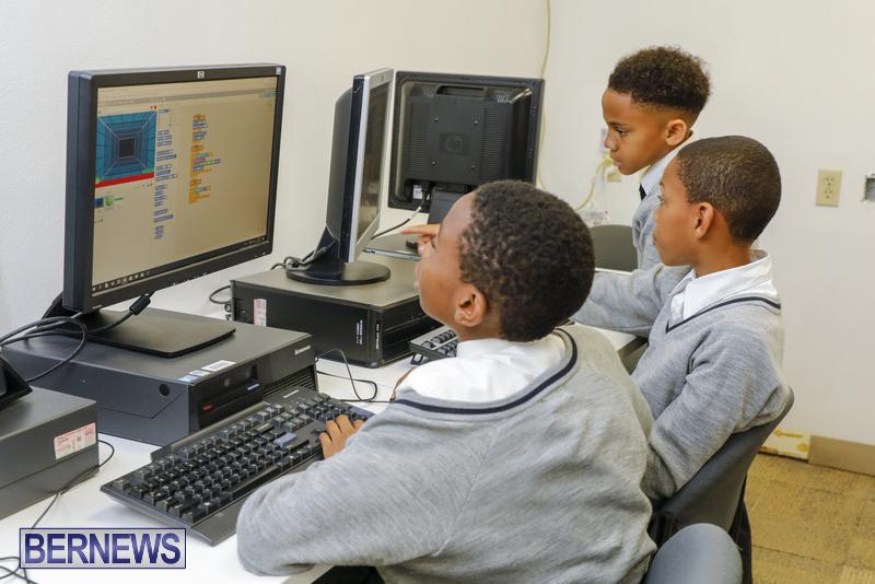 Students Receive Coding Certificates Bermuda, March 26 2018-6766