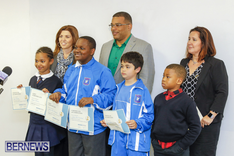Students Receive Coding Certificates Bermuda, March 26 2018-6789