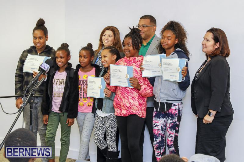 Students Receive Coding Certificates Bermuda, March 26 2018-6793