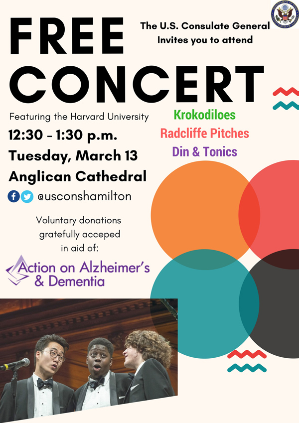 US Consulate Free Concert March 2018