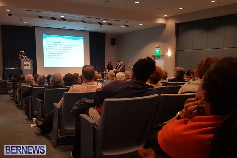 colon cancer talk Bermuda March 21 2018