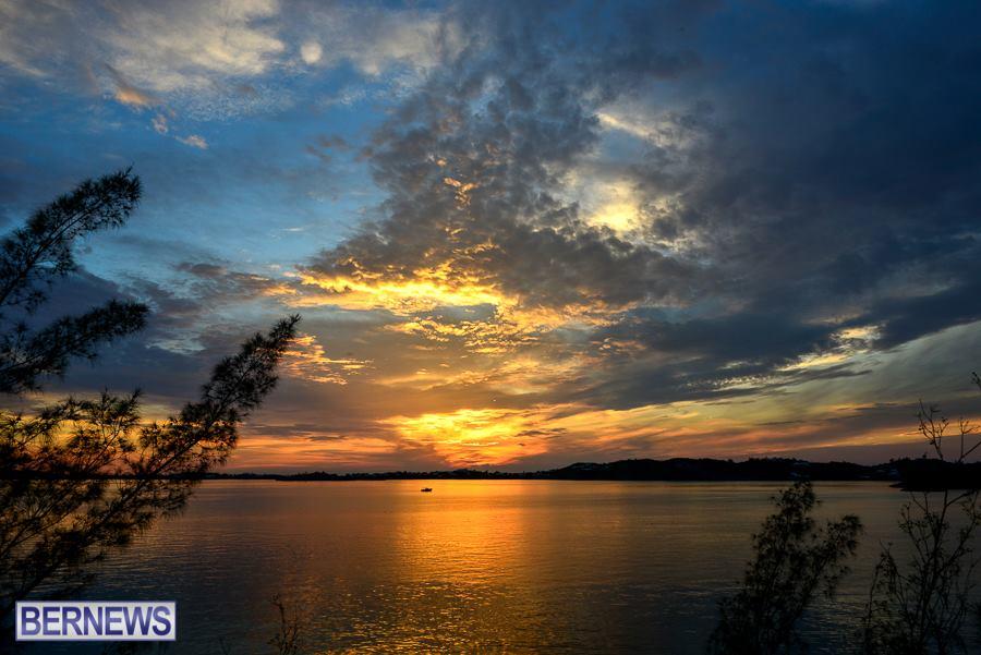 253 Harrington Sound sunset
