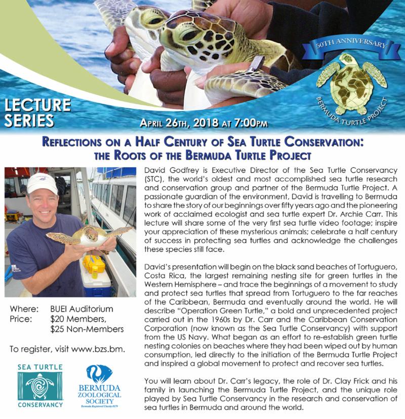 BZS Sea Turtle Conservation Bermuda April 2018
