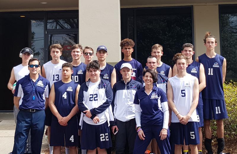 Bermuda Junior Boys volleyball team April 2018