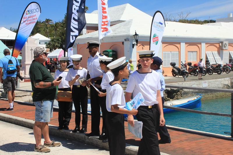 Bermuda Sea Cadet Corps April 2018