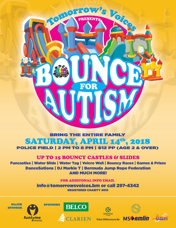 Bounce for Autism Bermuda April 10 2018