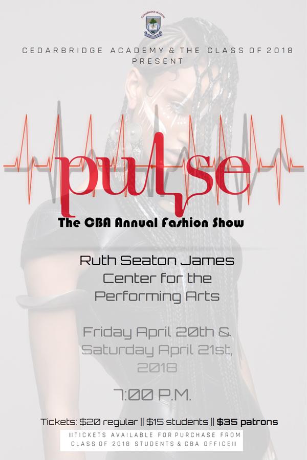CBA Fashion Show Bermuda April 2018