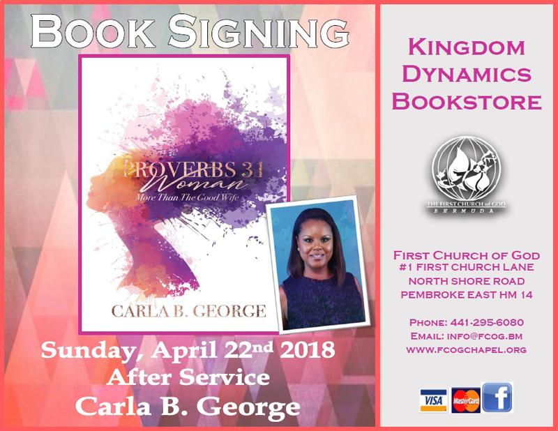 Carla George Book Signing Apr 22 2018