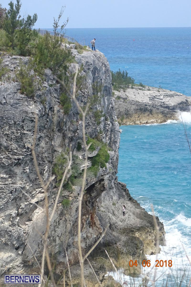 Cliff Climb St Davids Bermuda, April 6 2018-2-24-2