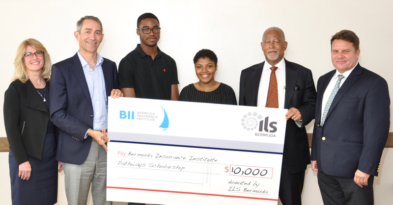 ILS Bermuda Scholarship presentation Bermuda April 3 2018 (1)