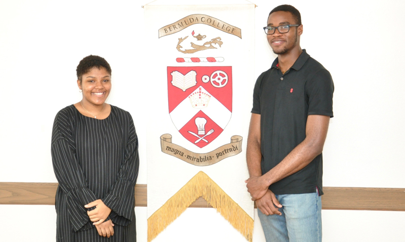 ILS Bermuda Scholarship presentation Bermuda April 3 2018 (2)