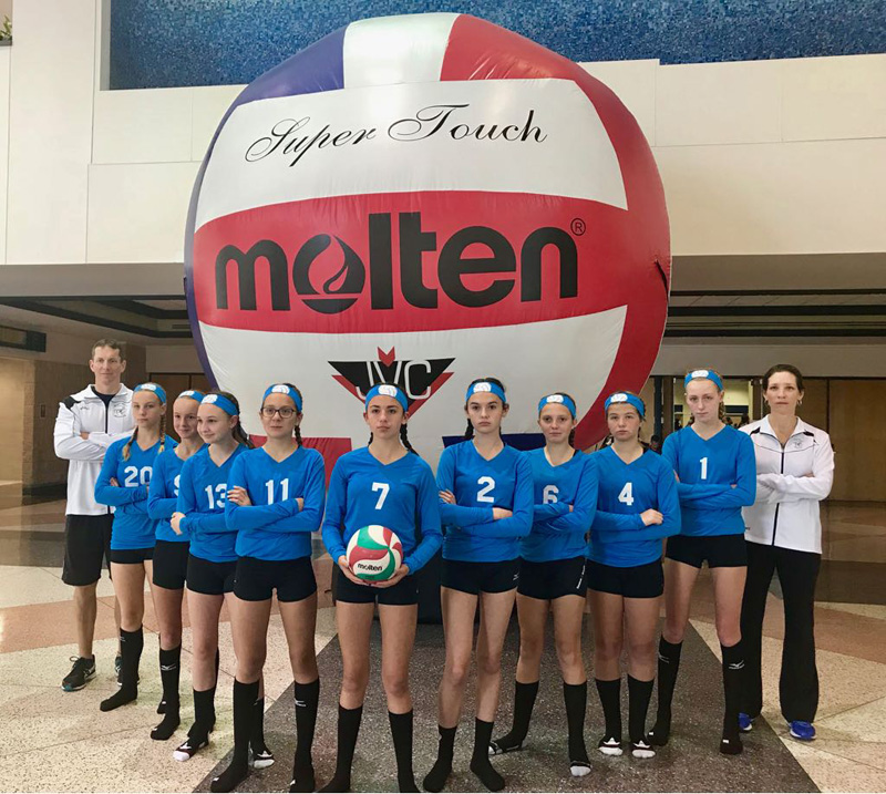 Junior Girls Volleyball Bermuda April 2018 (2)