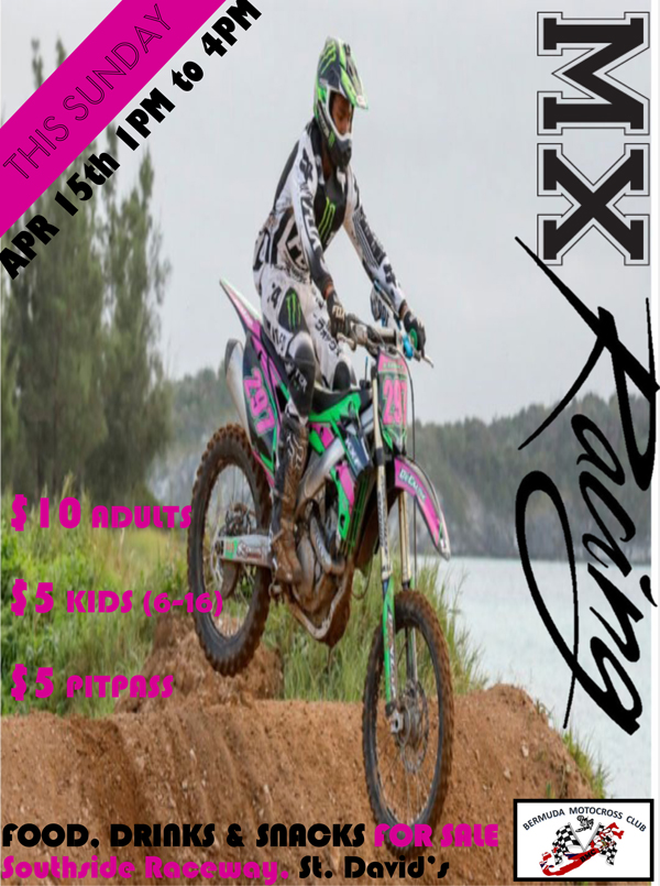MX Racing Bermuda Apr 2018