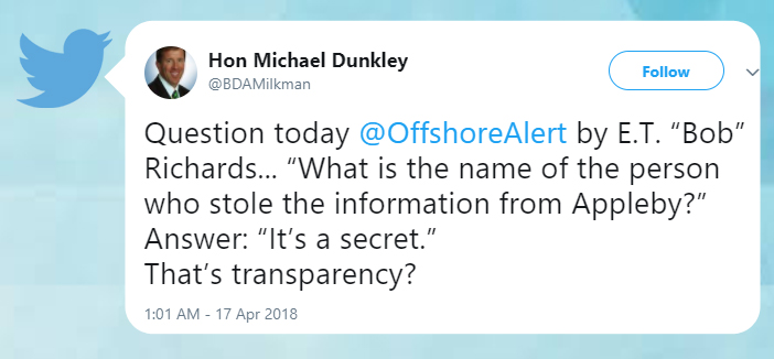 Michael Dunkley tweet Bermuda April 19 2018 2 (1)