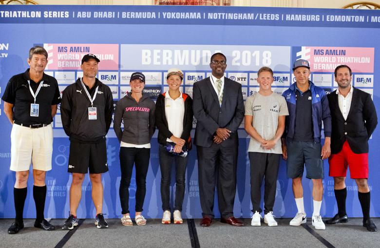 Minister Pre Triathlon Press Conference Bermuda April 2018 (5)