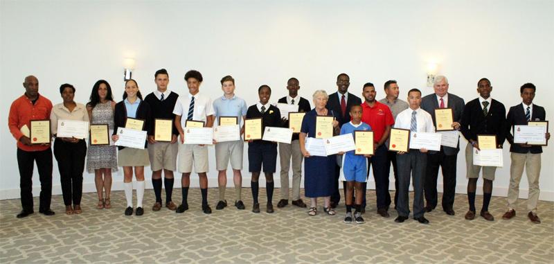 National Junior Athlete Sponsorship Programme Bermuda April 2018
