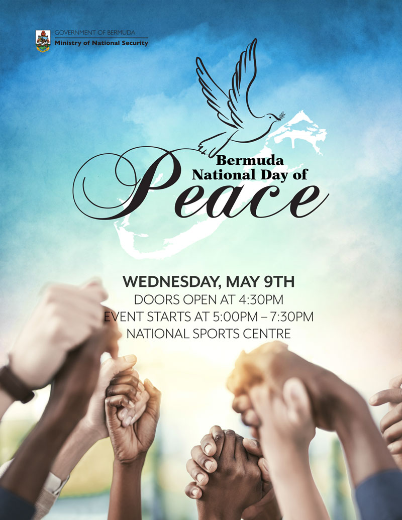 Natl Day of Peace Apr 25