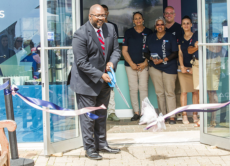 Opening of Visitor Centre Bermuda April 2018 (2)