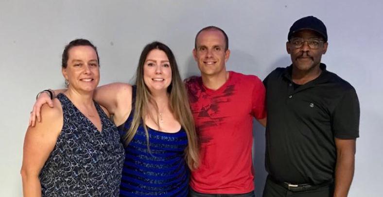 Pamela, Karl, Kat and Trevor Bermuda April 2018