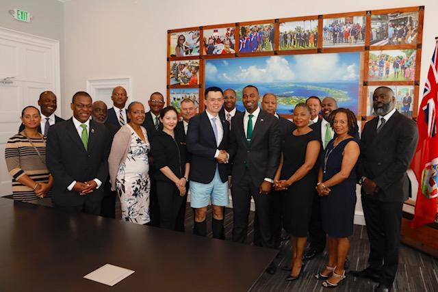 Premier David Burt Binance Bermuda, April 27 2018 (5)