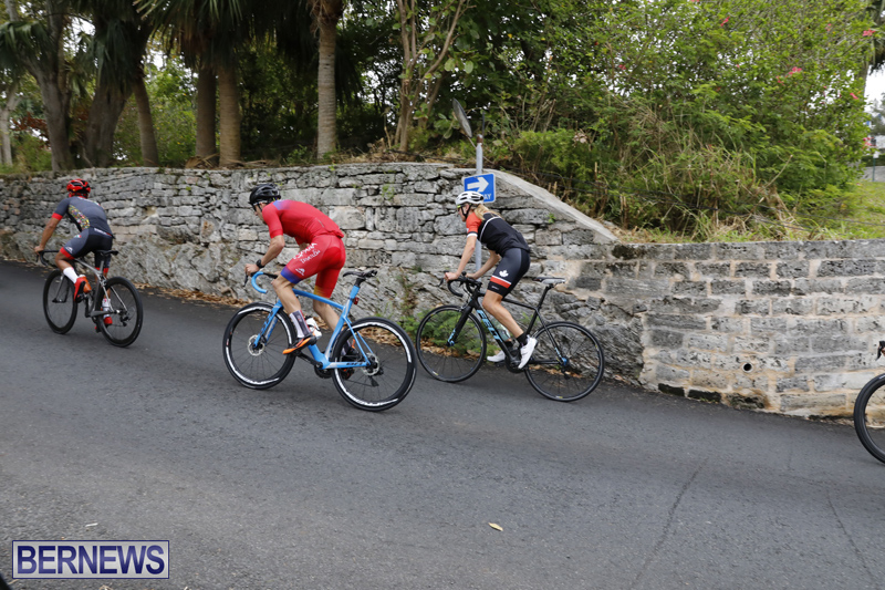 Triathlon Elite Athletes Familiarisation Ride Bermuda April 27 2018 (4)