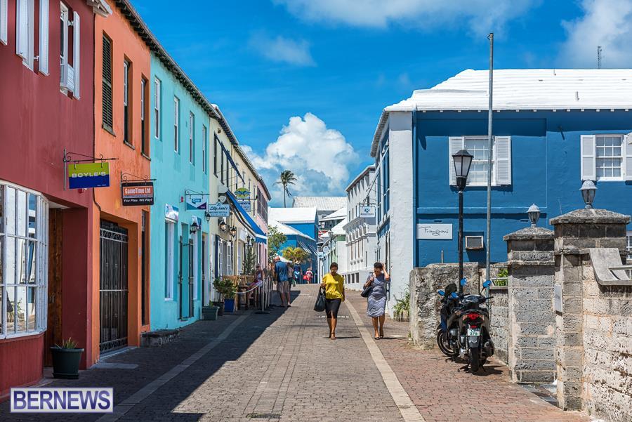 297 Happy Bermuda holiday from St George's Bermuda