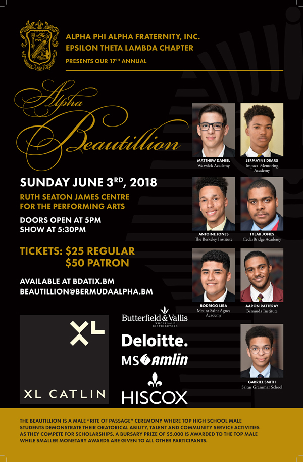 Alpha Beautillion Bermuda May 2018