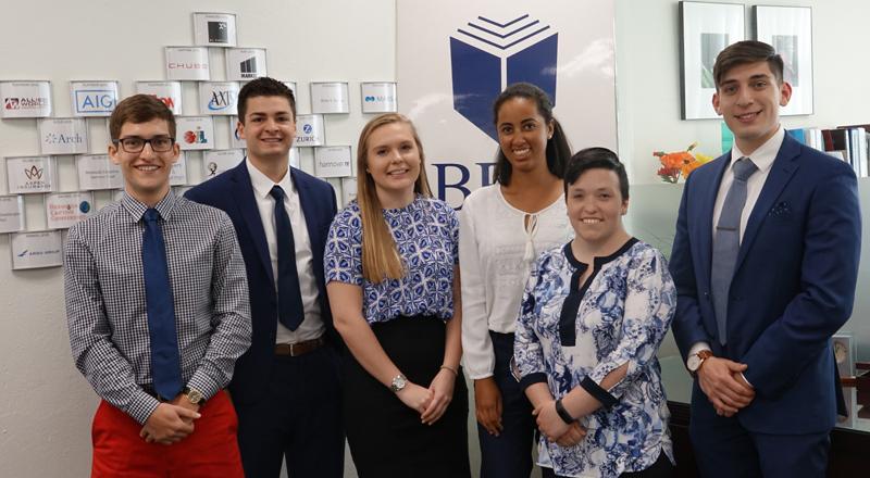BFIS Bermuda Interns 2018