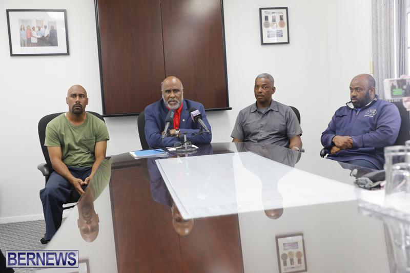 BIU President Press Conference Bermuda May 1 2018