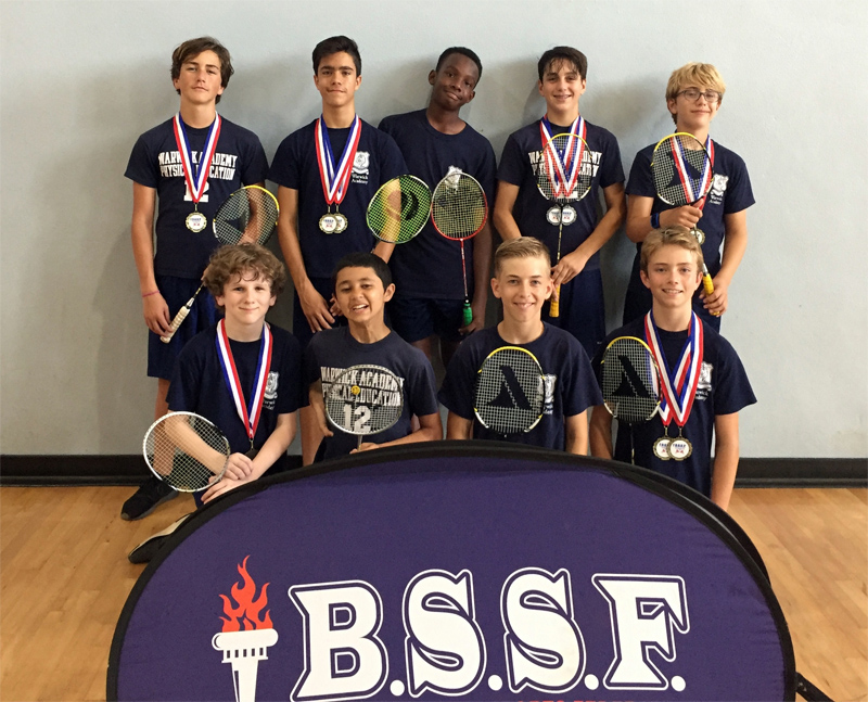 BSSF Badminton Bermuda May 2018