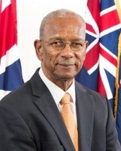 British Virgin Islands Premier Orlando Smith May 2018