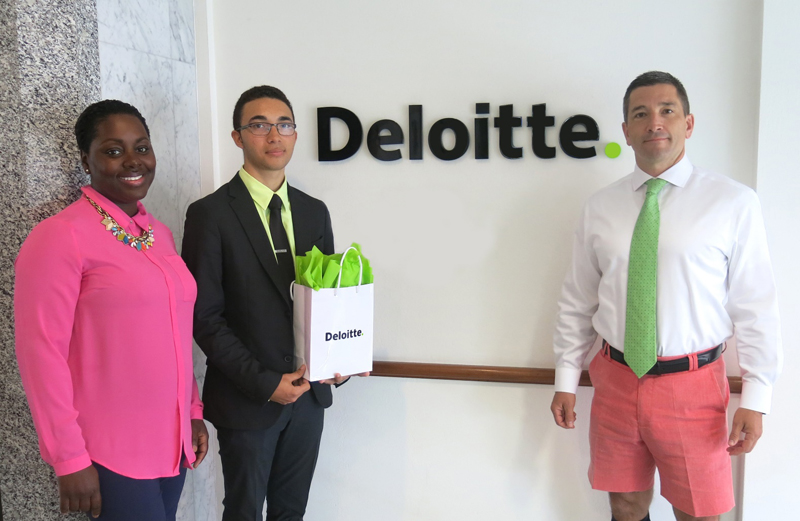 Deloitte Scholarship Bermuda May 2018